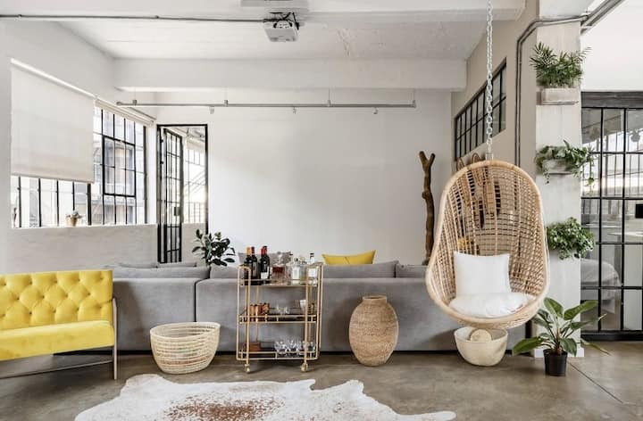 Industrial Chic City Loft