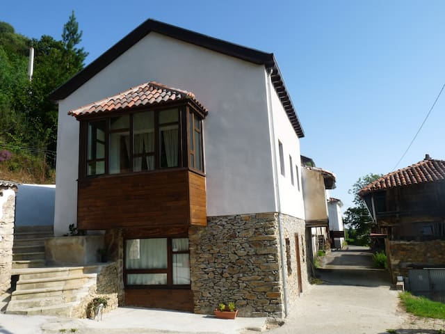 rural apartment for couples - Omedas - Pis