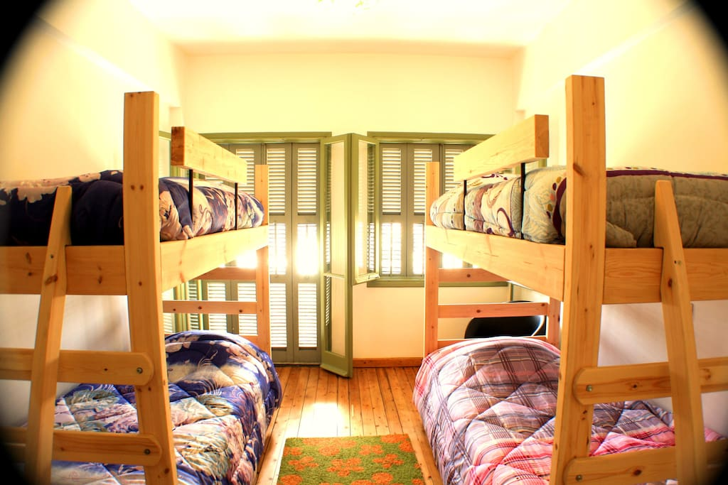 Female Dorm of 4 beds