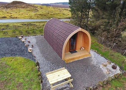 The Wee Skye Lodge **now with free WiFi**