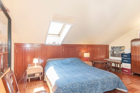 Attic flat in Segrate 80m² (262ft²) - Segrate, Milan - Gästesuite