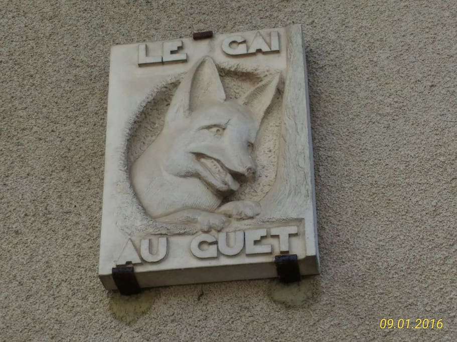 Le gai renard au guet