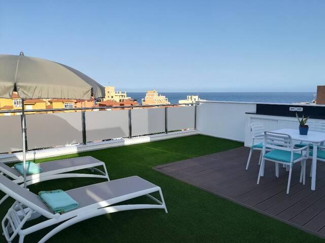 Nuevo y acogedor apartamento cerca del mar