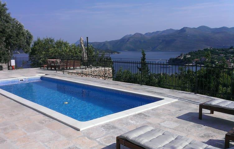 Luxury Villa with Pool in Dubrovnik - Lopud, Dubrovnik - Villa