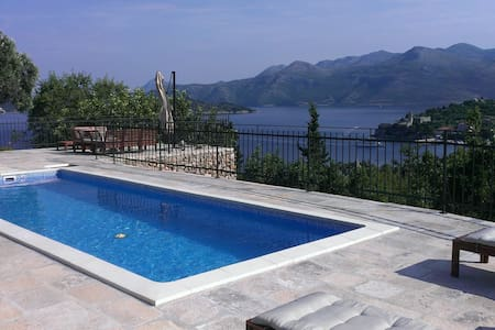 Luxury Villa with Pool in Dubrovnik - Lopud, Dubrovnik
