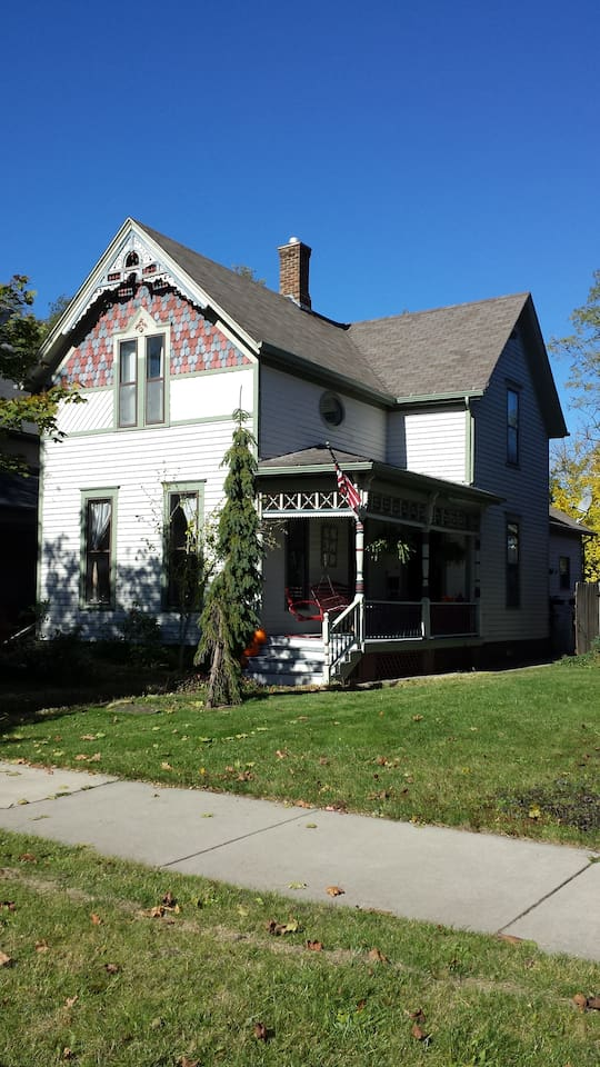 Beautiful, inside and out, 1900 Victorian home in the historic museum district of South Bend.