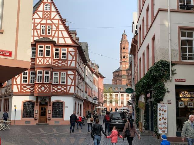Apartment im Herzen der Mainzer Altstadt