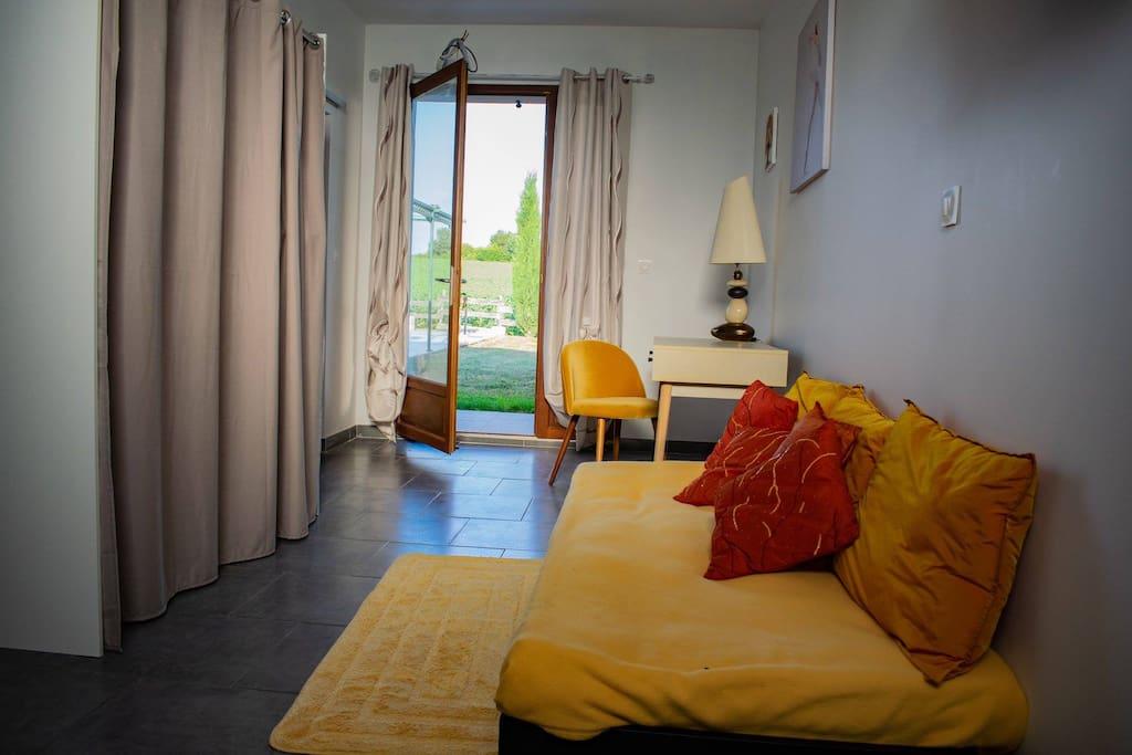 Possibilité pour cette chambre d avoir un lit d appoint