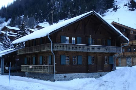 Charming authentic alpine chalet - Troistorrents - Xalet
