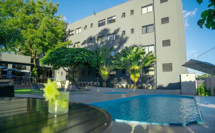 Apartamento Duplo no Iguassu Express Hotel