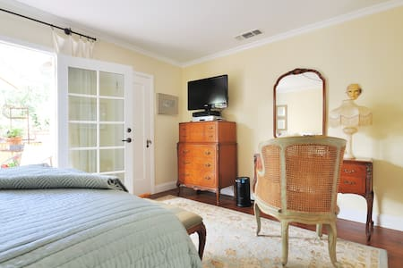 Charming Private Suite In 1930 Downtown Bungalow - ナパ - 一軒家