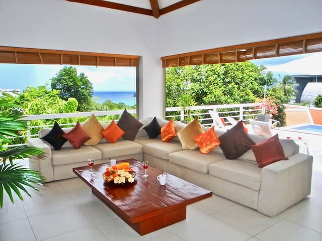 Private Pool Sea View Villa near Kata Beach
