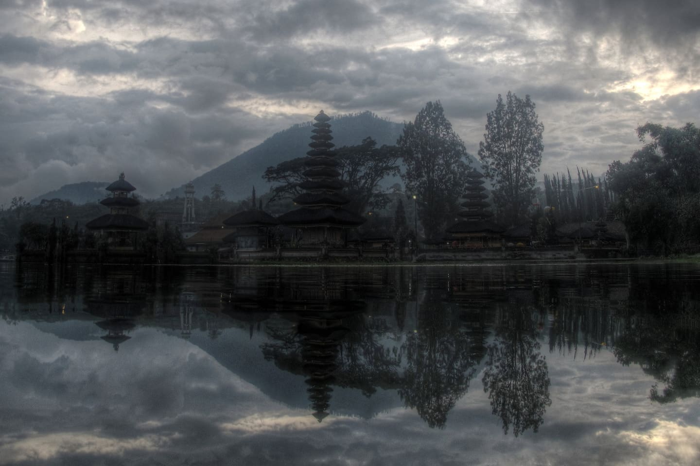 Our place is about 12 km drive from Bedugul with Bali's most photographed Ulun Danu temple