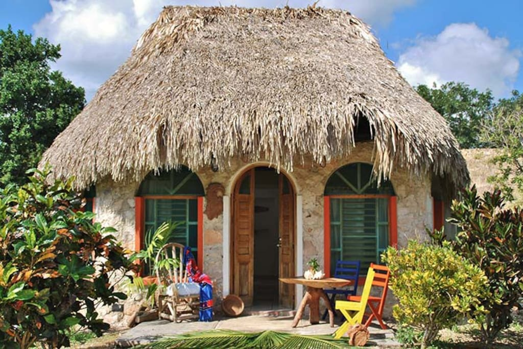 Caba a ecotucan bed breakfasts for rent in bacalar for Villas bacalar