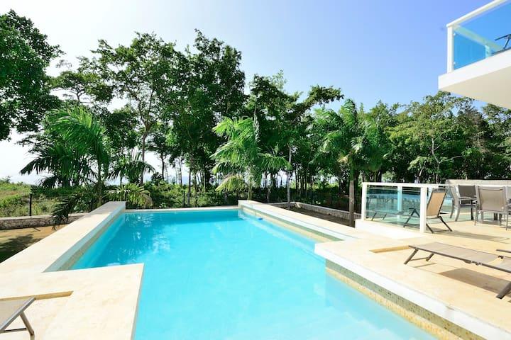 Exceptional Lrg  Modern Ocean Villa - Río San Juan - Hus