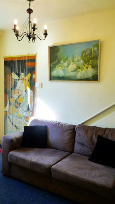 Anawhata room - has an adjoining sitting room for added privacy