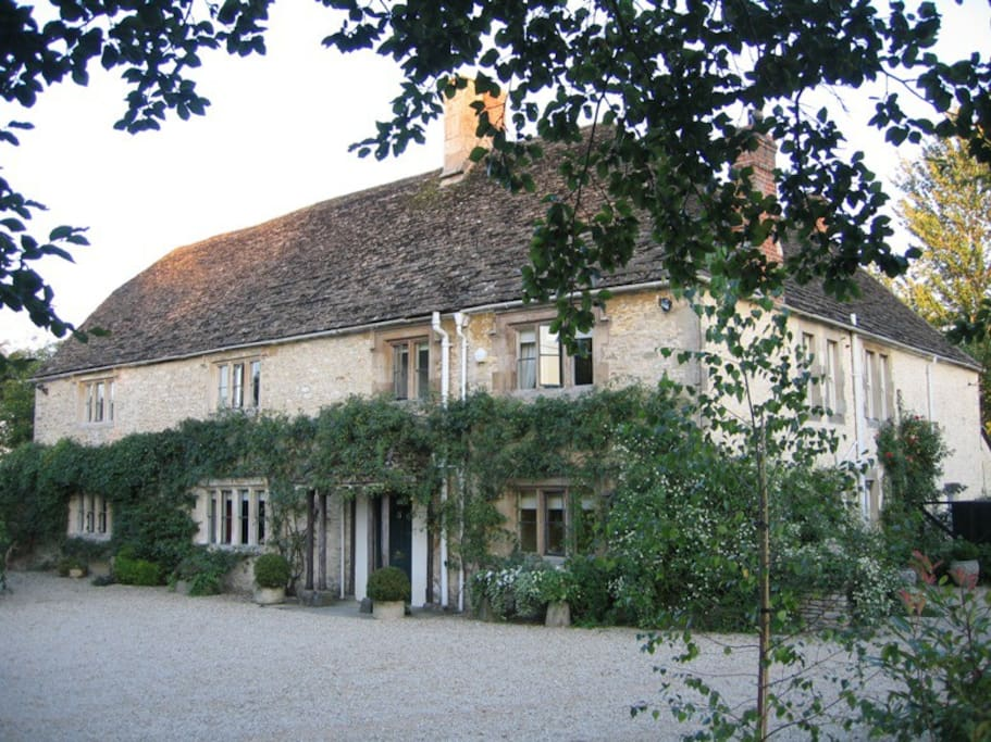Somerford House is a 400 year old Cotswold country farmhouse