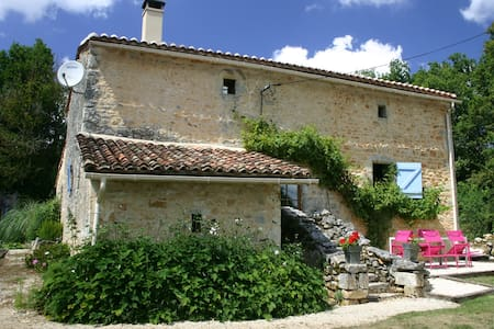 600 year old cottage nr Angouleme - Mainzac - Hus
