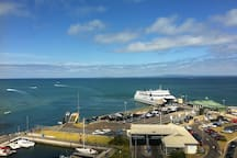 Queenscliff Harbour - Searoad Ferries cross the bay to Sorrento on the Mornington Peninsular every hour.