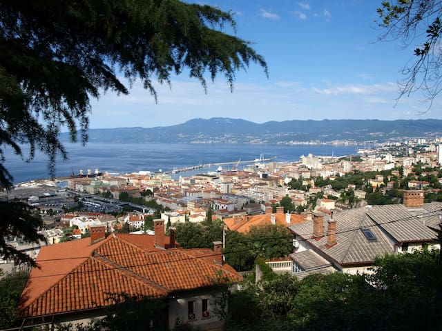 Apartment with a amazing view - Rijeka - Apartment