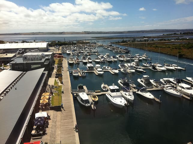 The Queenscliff Harbour is just a short walk along the Swan Bay bike/walking path.  A great location for a coffee, lunch, dinner, a wine or just to watch the world go by.  Let us know if you would like to borrow our bicycles.