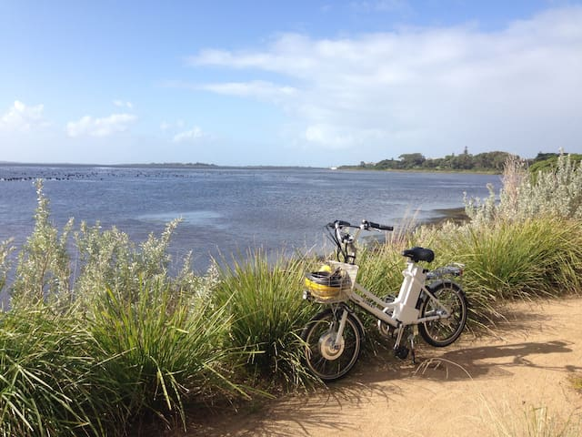 Borrow our bicycles to explore our lovely coastal village and take in the views.