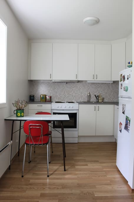 Fully equipped newly refurbished kitchen