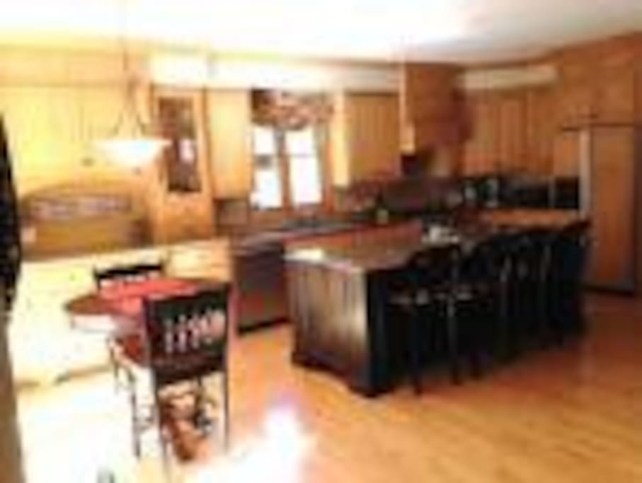 Gourmet kitchen with all the amenities needed to entertain