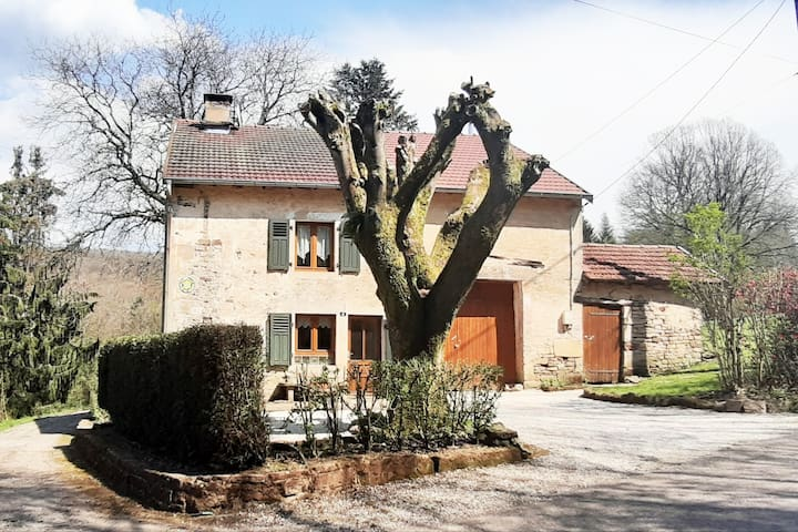 Décompresser dans les Vosges au Gite Pom & Cerise
