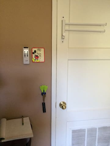 Remote for fan and house keys