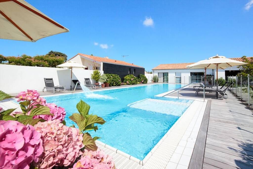 Villa de prestige avec piscine villas louer sainte for Camping moustiers sainte marie avec piscine