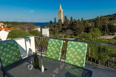 Apartment Danica with beautiful Sea View terrace