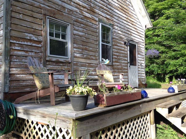 School House+Shed+Creek+Airstream+Outdoor Shower! - Grahamsville - Loft