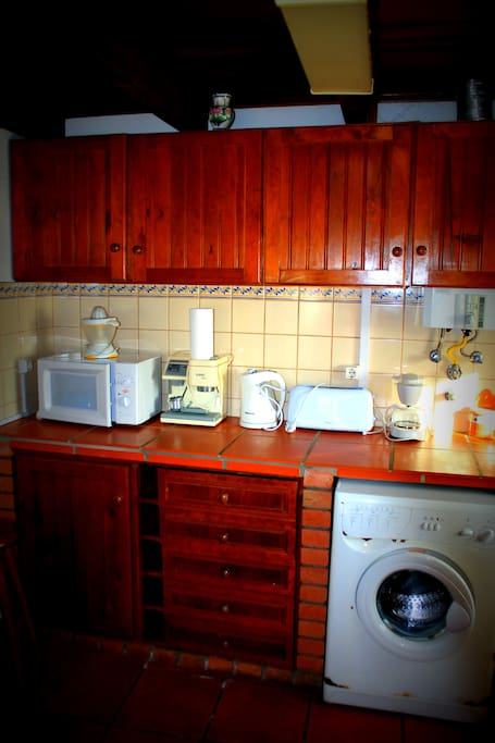 Equipment in kitchen