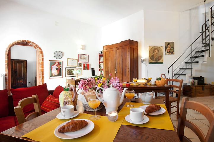 B&B Ixia 7 Km da Cosenza doppia - Carolei - ที่พักพร้อมอาหารเช้า