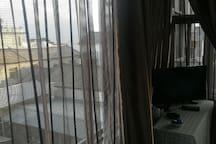 伴海时光客栈景观大床房