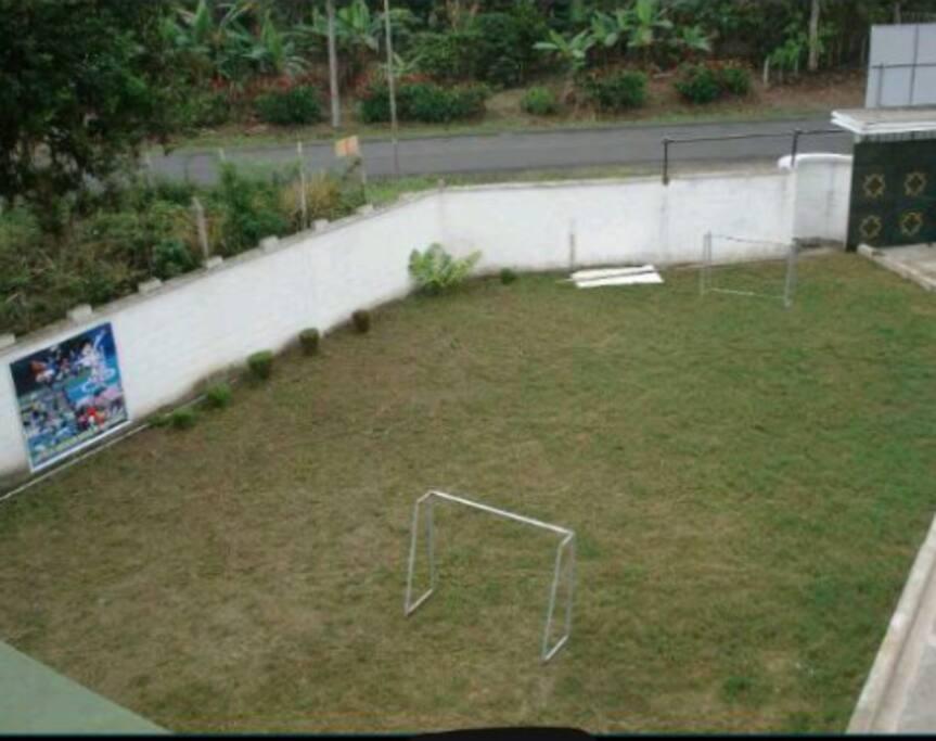 Mini cancha de Futbol
