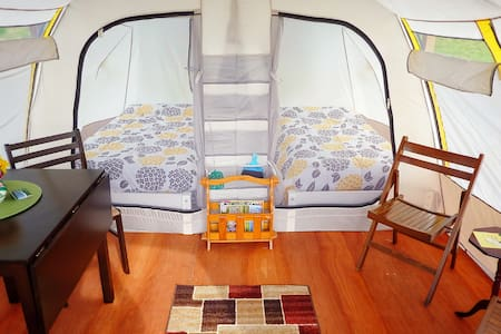 FundyRidge: (A) Glamping in Style - Alma - Stan