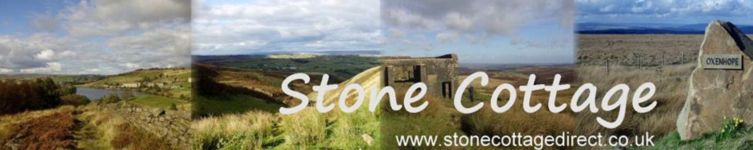 Stone Cottage nr Haworth, Yorkshire - Oxenhope - Hus