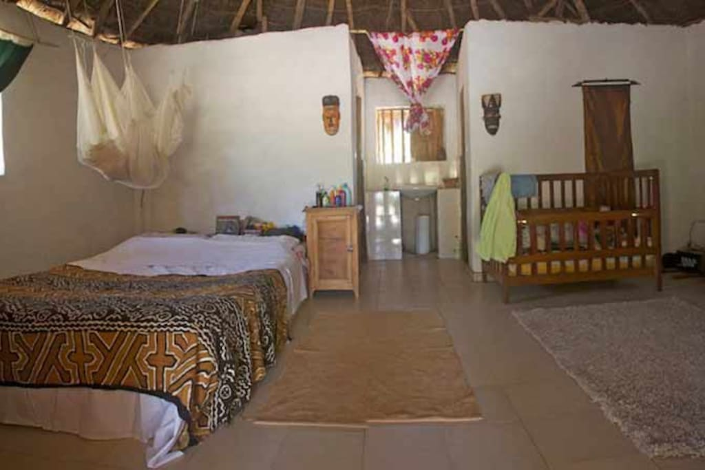 Main room of guest house