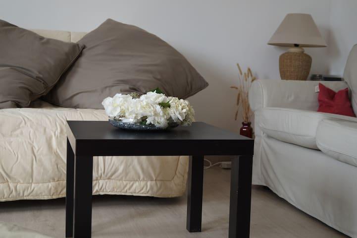 Beau studio 4 pers pays d'Auge - croissanville - Lägenhet