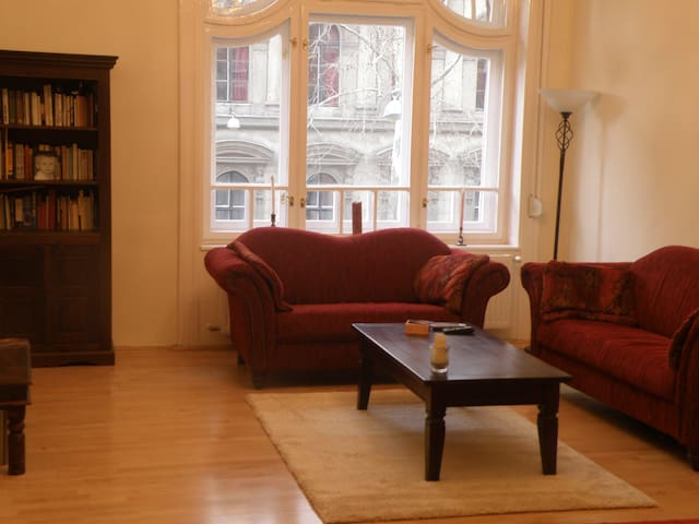 Downtown, at Opera, 3 rooms/2bedrooms, 85sqm, WIFI - Budapest - Apartment