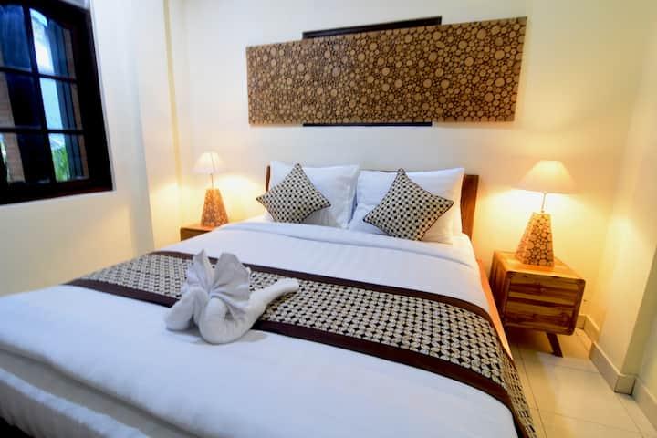 Comfortable house near Radiantly alive Yoga @ Ubud