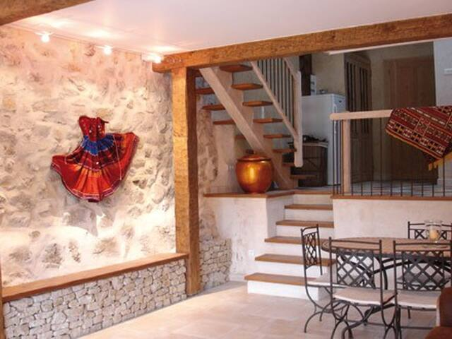 Mas de charme au coeur de la Drôme - Eygluy-Escoulin - House