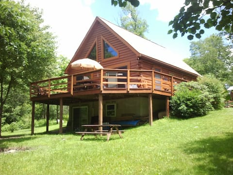 Bear Creek Cabin in the Allegheny National Forest