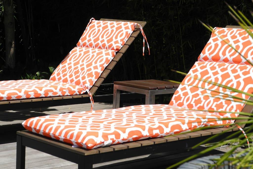 custom tiger wood deck
