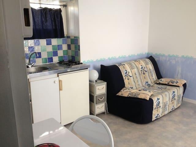 Studio meublé équipé - Angoulême - Apartamento