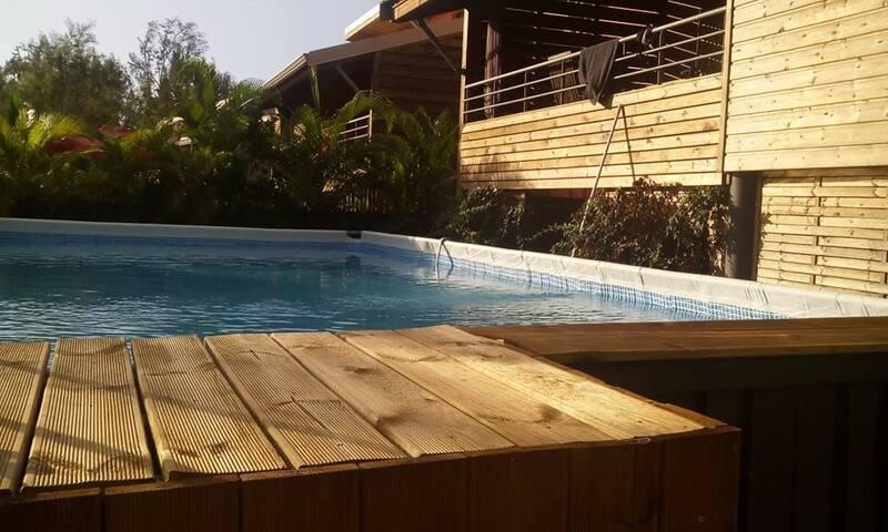 Maison sur pilotis avec piscine à 300 m de l'océan - L'Étang