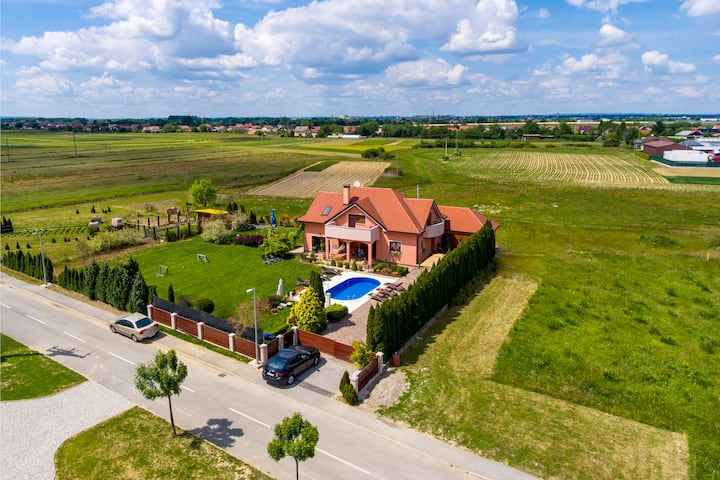 Holiday villa Rita , green oasis near Varaždin