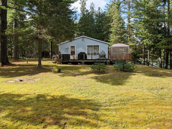 Blue Moose Cabin - beautiful lakefront property!